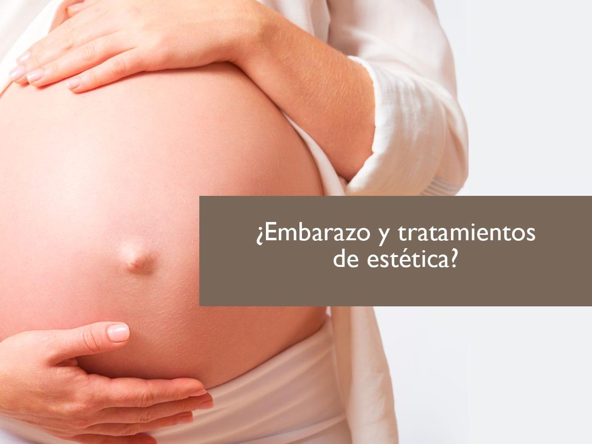 09 08 Embarazo Estar embarazada y tratamientos de estética ¿Son compatibles?