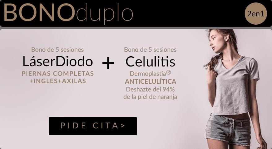 Bono Celulitis2 Depilación Láser