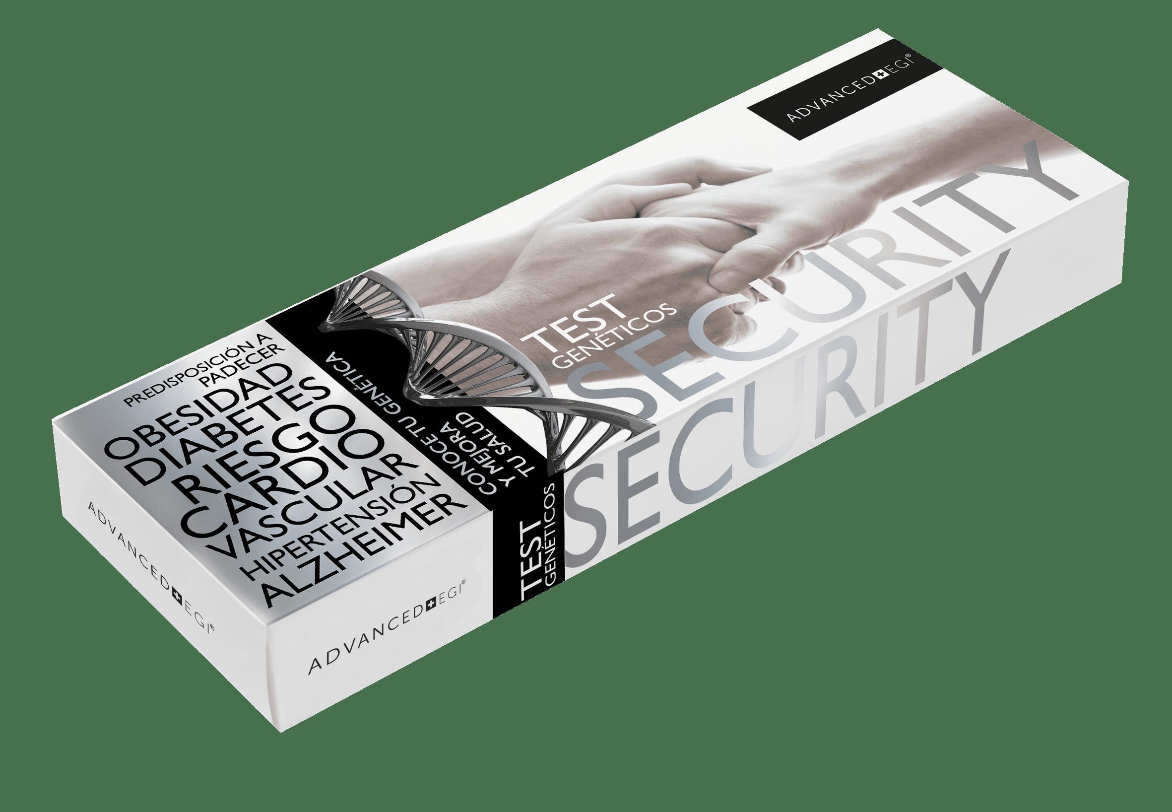Caja security Test Genéticos
