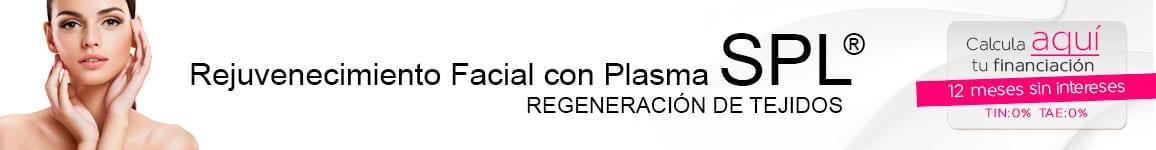 Rejuvewnecimientos Facial con Plasma SPL1 Infiltración Plasma SPL ®