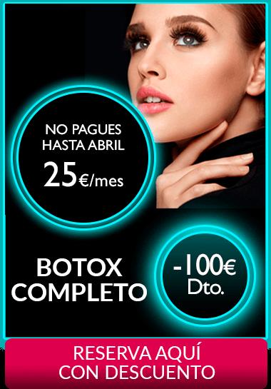 Botox completo Segundas Rebajas 2018