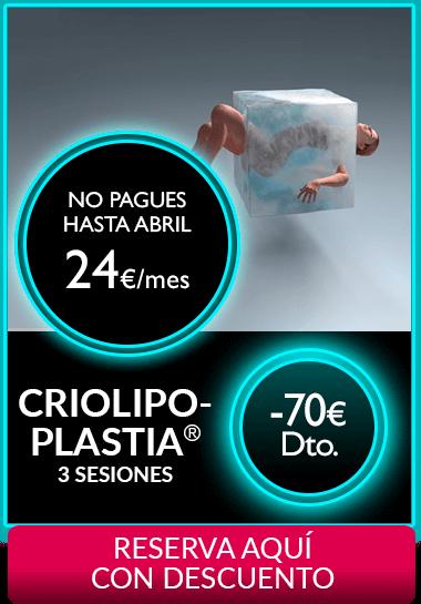 Criolipoplastia Segundas Rebajas 2018