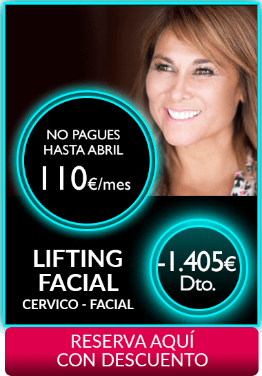 Lifting Cervico Facial Segundas Rebajas 2018
