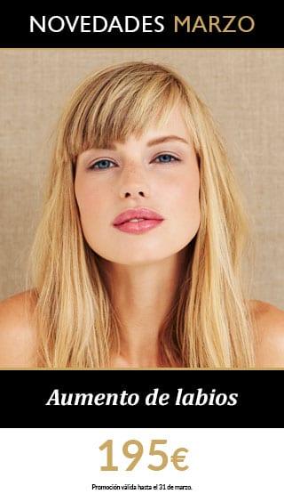 promocion aumento labios marzo Promos Medicina Estética