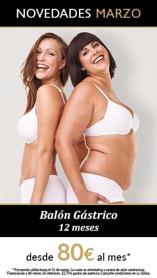 promocion balon gastrico 12 meses marzo Promos Nutrición Obesidad